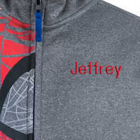 Image of Spider-Man Zip Hoodie for Boys - Personalizable # 2