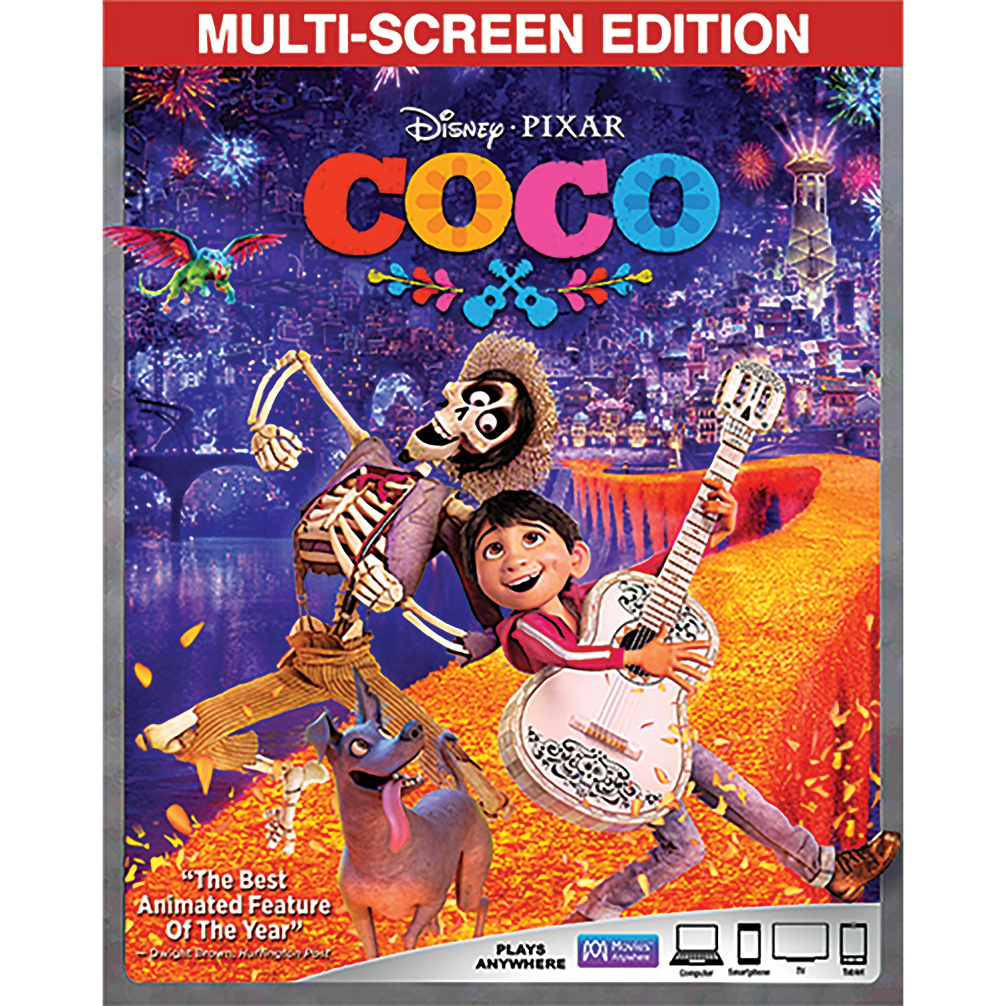 Pre-order Coco Blu-ray Combo Pack Multi-Screen Edition + FREE Lithograph