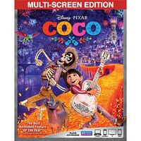 Coco Blu-ray Combo Pack Multi-Screen Edition + FREE Lithograph - Pre-Order