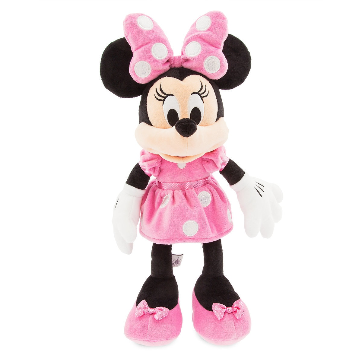 Product Image of Minnie Mouse Plush - Pink - Medium - 18'' # 1