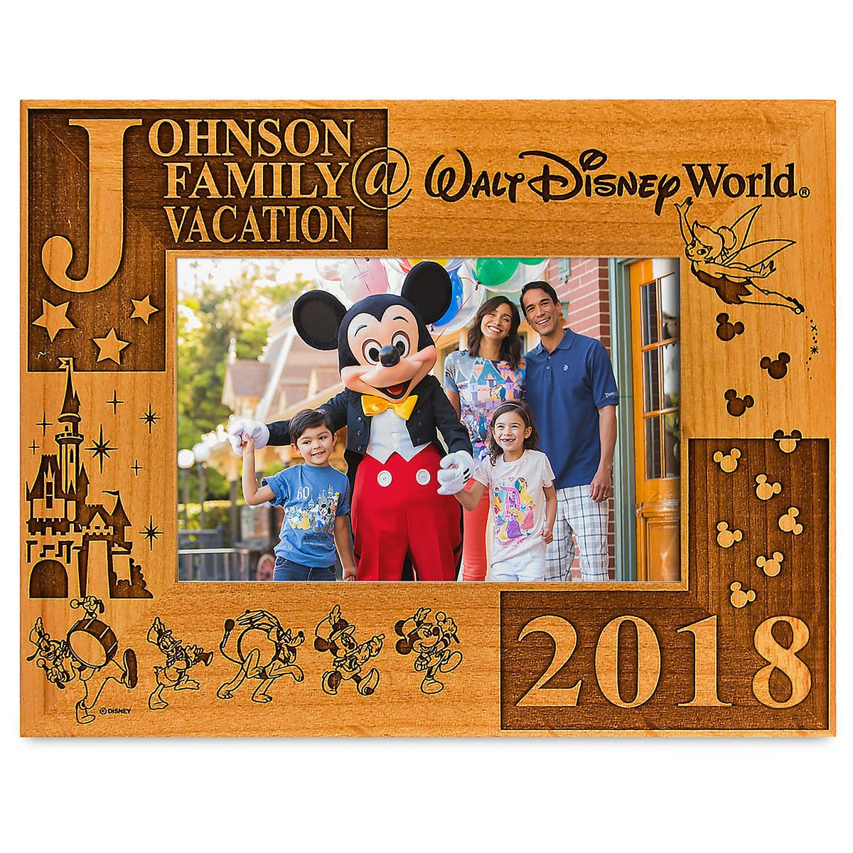 Walt Disney World 2018 Frame by Arribas - 4\'\' x 6\'\' - Personalizable ...