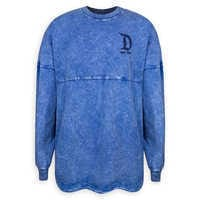 Image of Disneyland Mineral Wash Spirit Jersey for Adults - Blue # 1