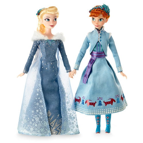 Anna and Elsa Doll Set ? Olaf's Frozen Adventure