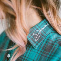 Image of Jasmine Flannel Shirt for Adults by Cakeworthy # 7