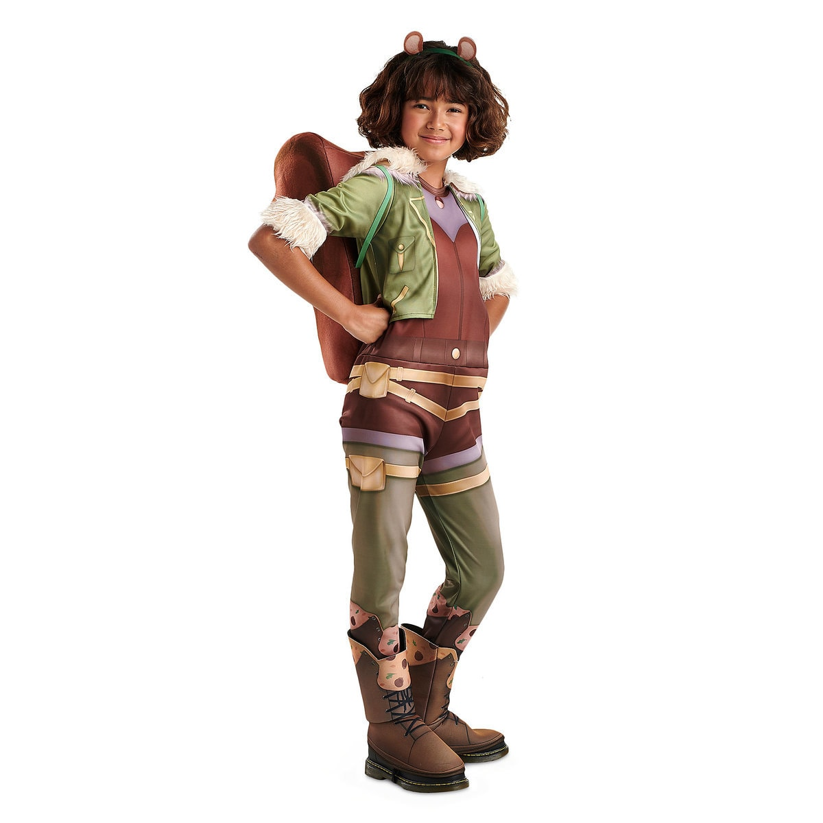c09cc9532ec25 Product Image of Squirrel Girl Deluxe Costume for Kids by Rubies # 1