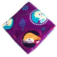 Image of Frozen Fleece Throw - Personalizable # 1