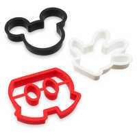 Image of Mickey Mouse Silicone Breakfast Mold Set - Disney Eats # 1