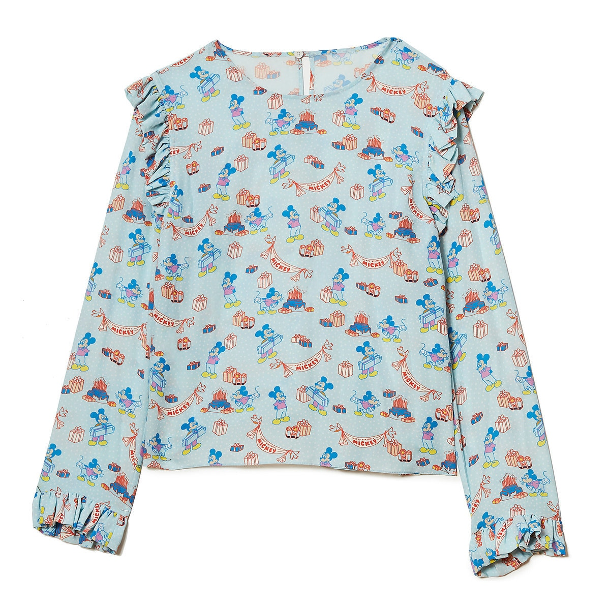 0d113949598dc0 Product Image of Mickey Mouse Birthday Blouse for Women by Opening Ceremony    1