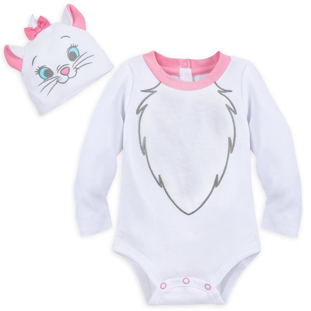 7eaa31feed613 Product Image of Marie Costume Bodysuit Set for Baby # 1