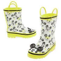 Image of Mickey Mouse Rain Boots for Kids # 3