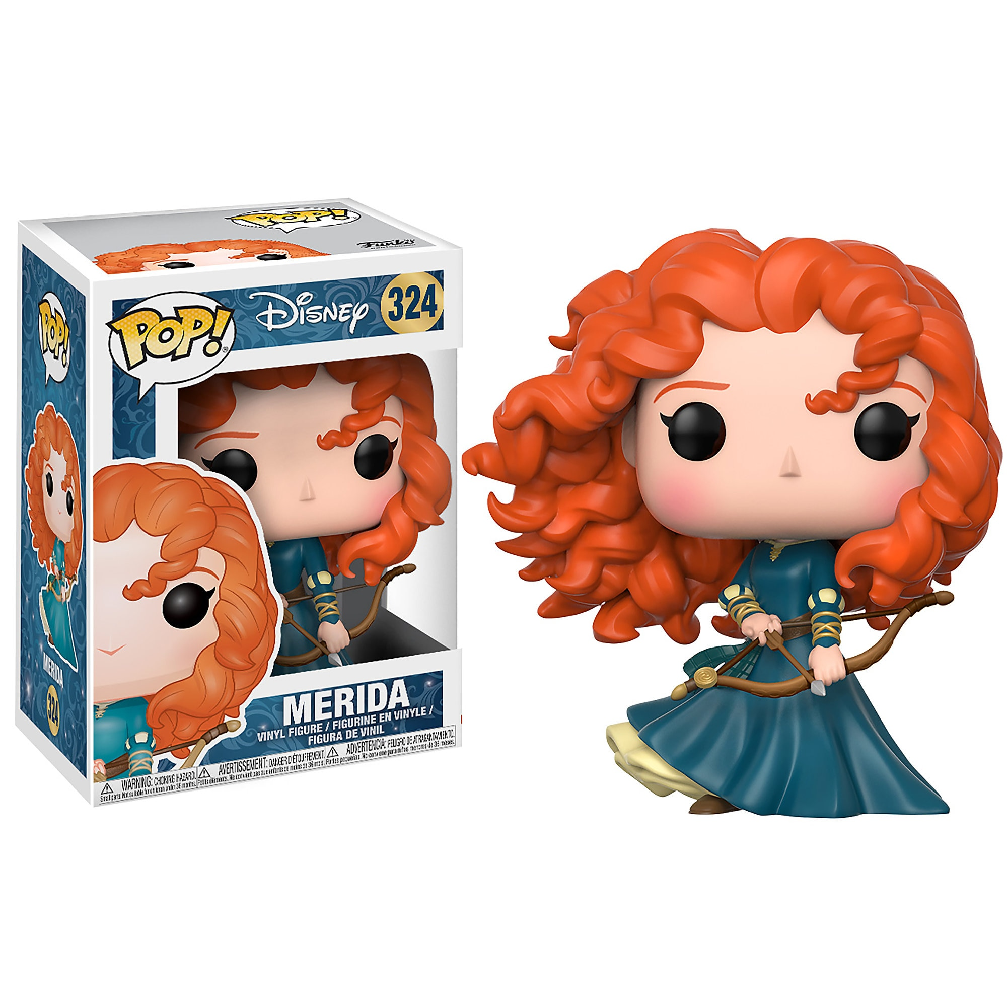 Merida Pop! Vinyl Figure - Brave - Funko
