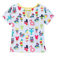 Image of Mickey and Minnie Mouse Short Sleep Set for Girls # 4