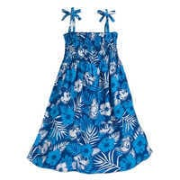 Image of Mickey Mouse and Friends Aloha Dress for Girls - Disney Hawaii # 1