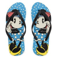 Minnie Mouse Timeless Flip Flops for Women