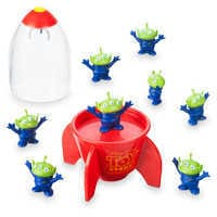 Image of Space Alien Claw Eraser Set - Toy Story # 2