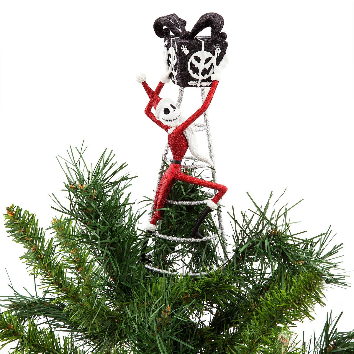 product image of jack skellington tree topper nightmare before christmas 1 - Jack Skellington Christmas Decorations