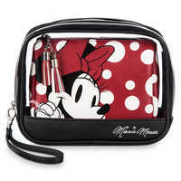 Image of Minnie Mouse Cosmetic Bag Set by Loungefly # 1