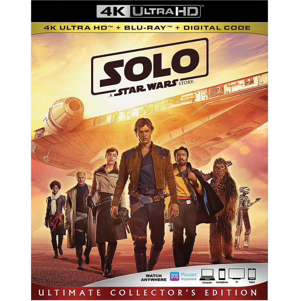 Solo: A Star Wars Story Blu-ray 4K Ultra HD