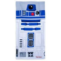 Image of R2-D2 Beach Towel - Personalizable # 1