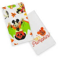 Mickey Mouse And Friends Halloween Kitchen Towel Set by Disney