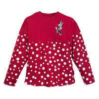 Image of Minnie Mouse Polka Dot Spirit Jersey for Kids - Walt Disney World # 1