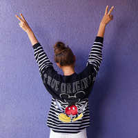 Image of Mickey Mouse Striped Spirit Jersey for Adults # 3