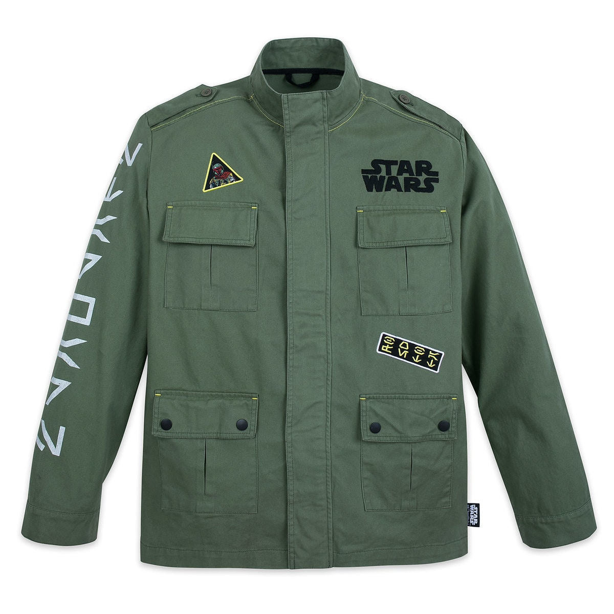 97e5aa5633 Product Image of Boba Fett Military Jacket for Adults - Star Wars # 1