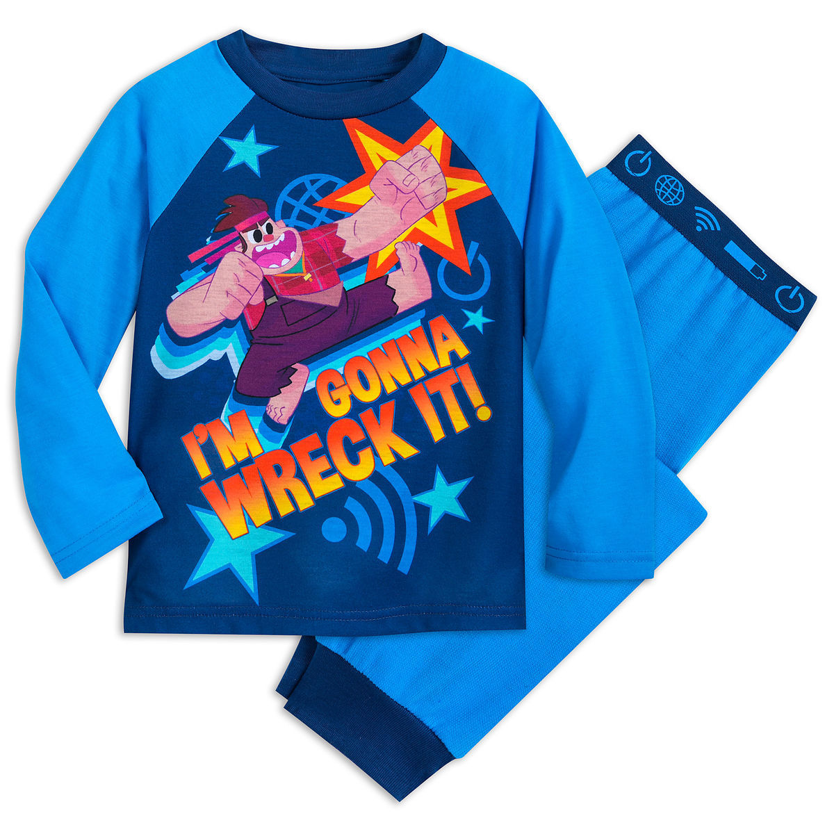 d460661aa6 Product Image of Wreck-It Ralph Pajama Set for Kids   1