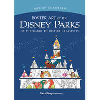 Image of Art of Coloring: Poster Art of the Disney Parks # 1