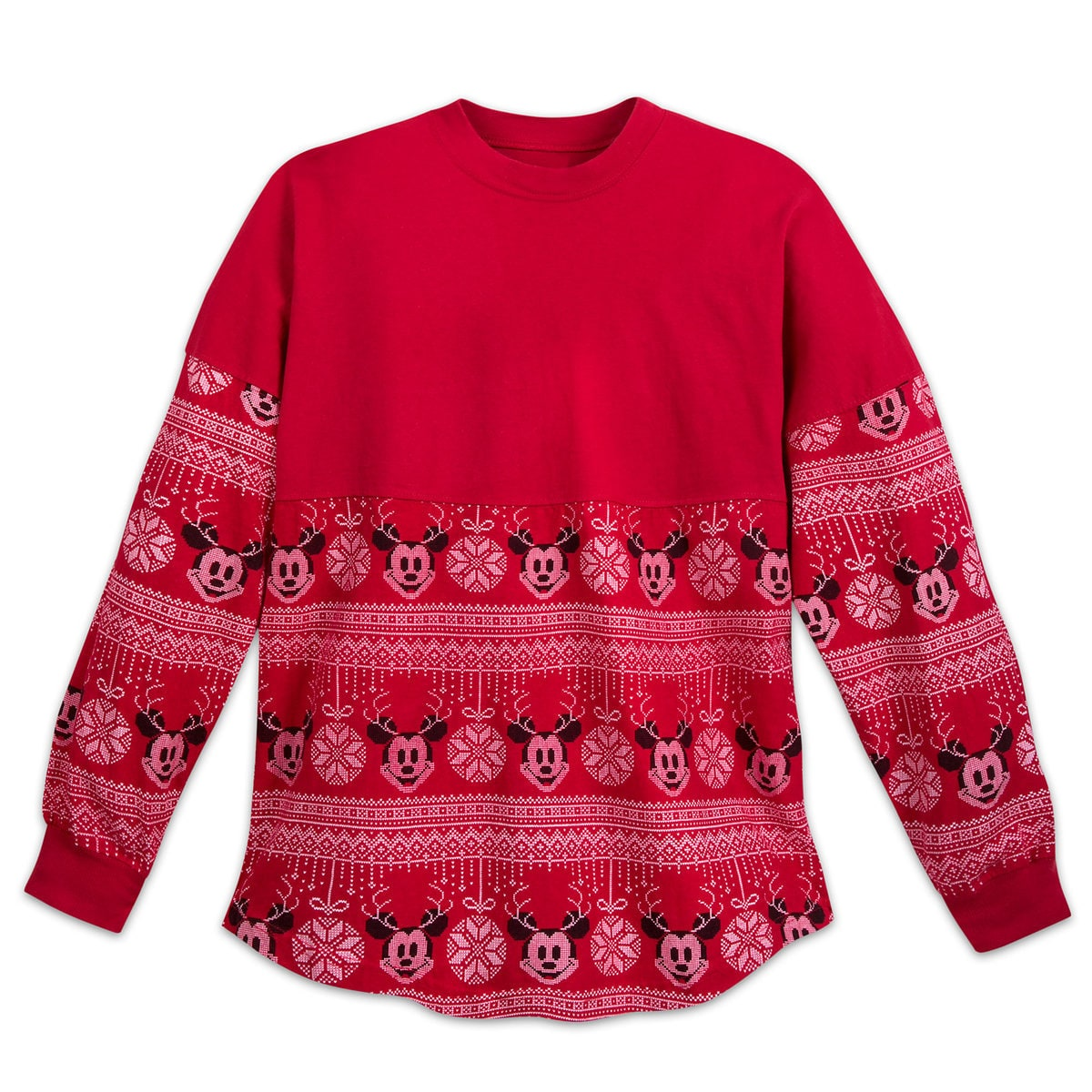 1c0ad3722 Product Image of Mickey Mouse Holiday Spirit Jersey for Adults # 1