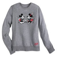 Mickey and Minnie Mouse Sweethearts Sweater - Women