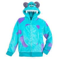 Image of Sulley Costume Zip Hoodie for Kids # 1