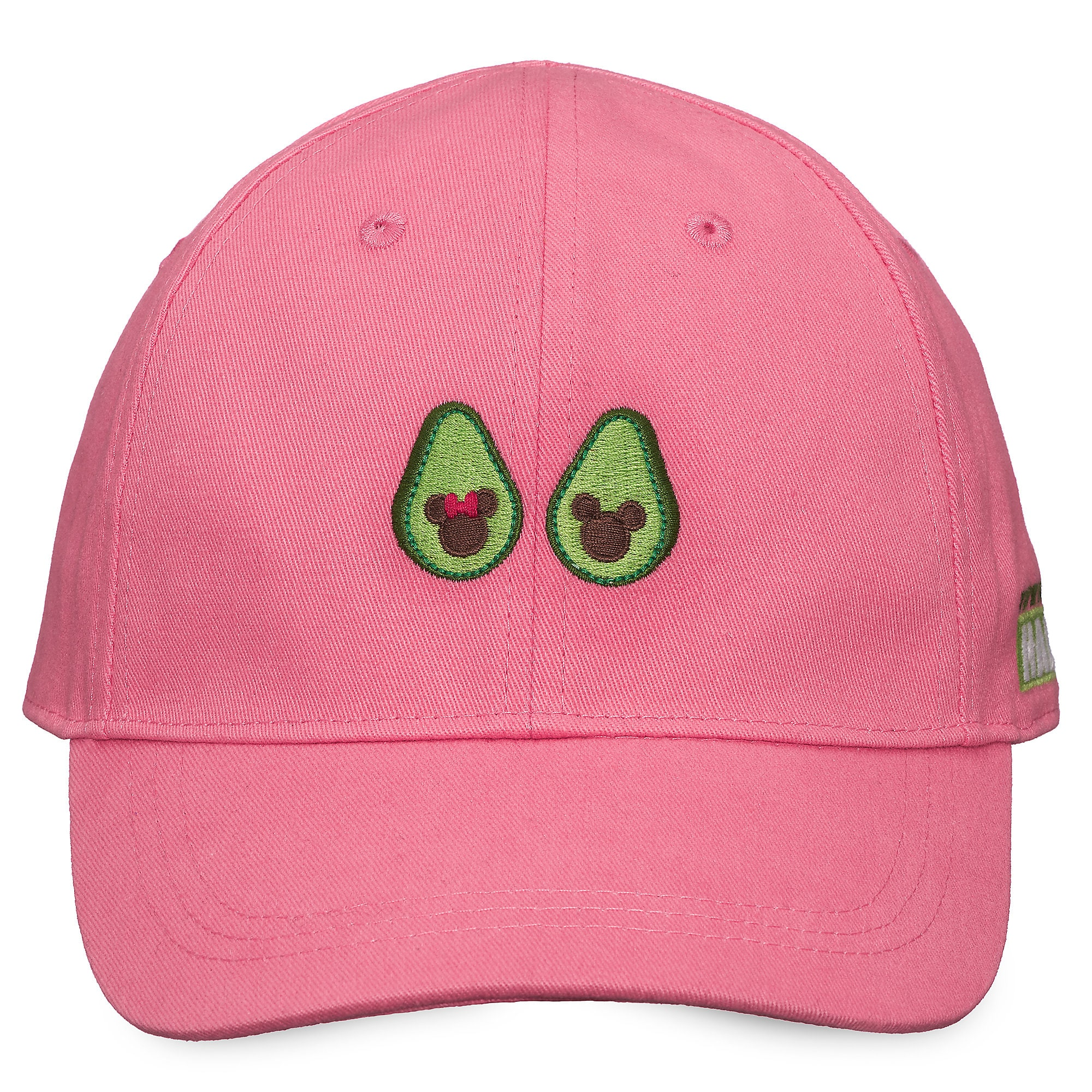 76ff0104 Mickey and Minnie Mouse Avocado Baseball Cap for Adults | shopDisney