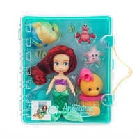 Image of Disney Animators' Collection Ariel Mini Doll Playset - The Little Mermaid # 3