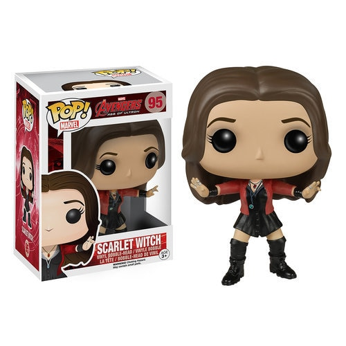 Scarlet Witch Pop Vinyl Bobble Head Figure By Funko