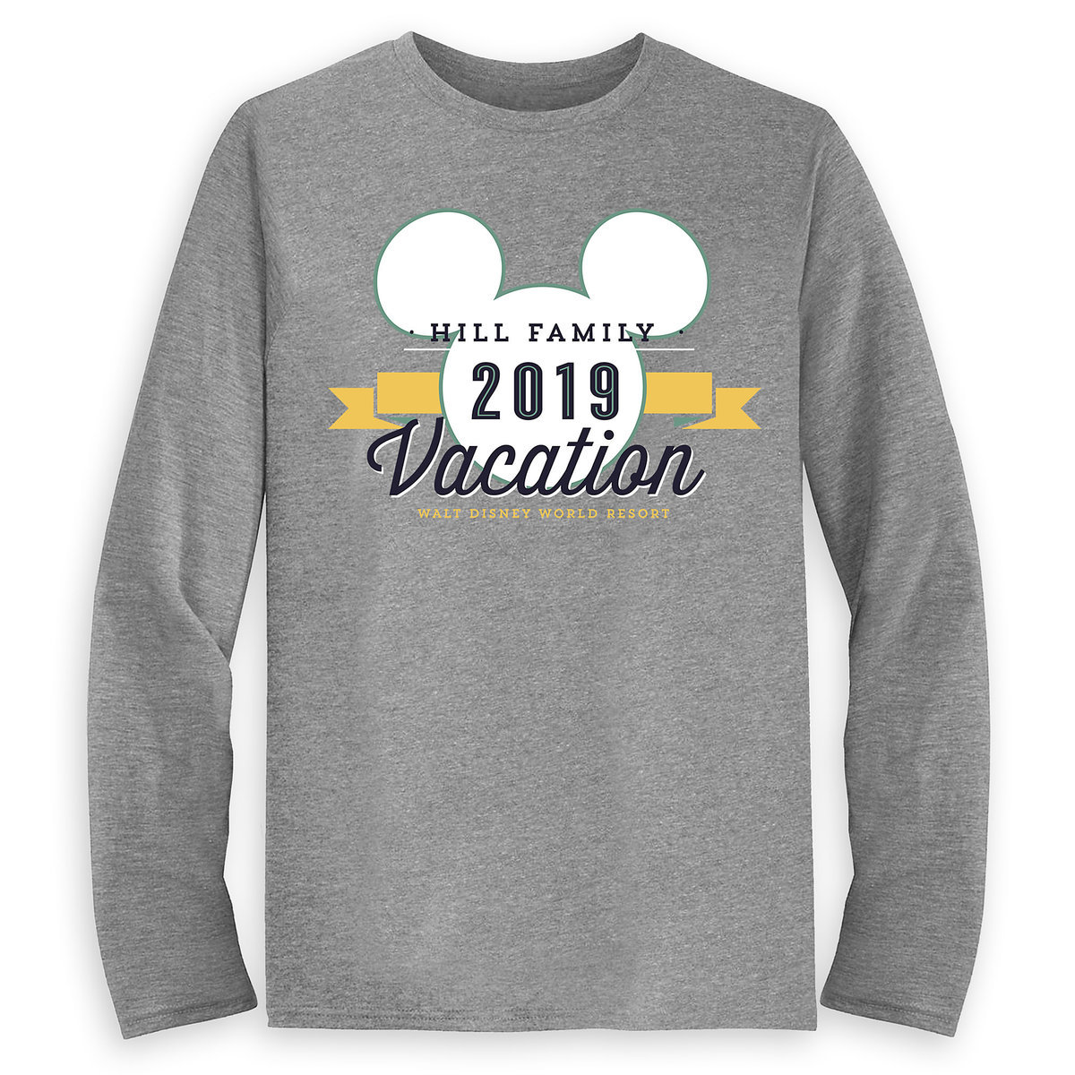 b896d5c2 Product Image of Men's Mickey Mouse Family Vacation Long Sleeve Shirt -  Walt Disney World Resort