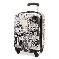 Image of Jack Skellington and Friends Rolling Luggage # 1