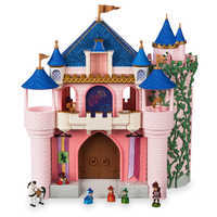 Image of Disney Animators' Collection Deluxe Sleeping Beauty Castle Play Set # 1