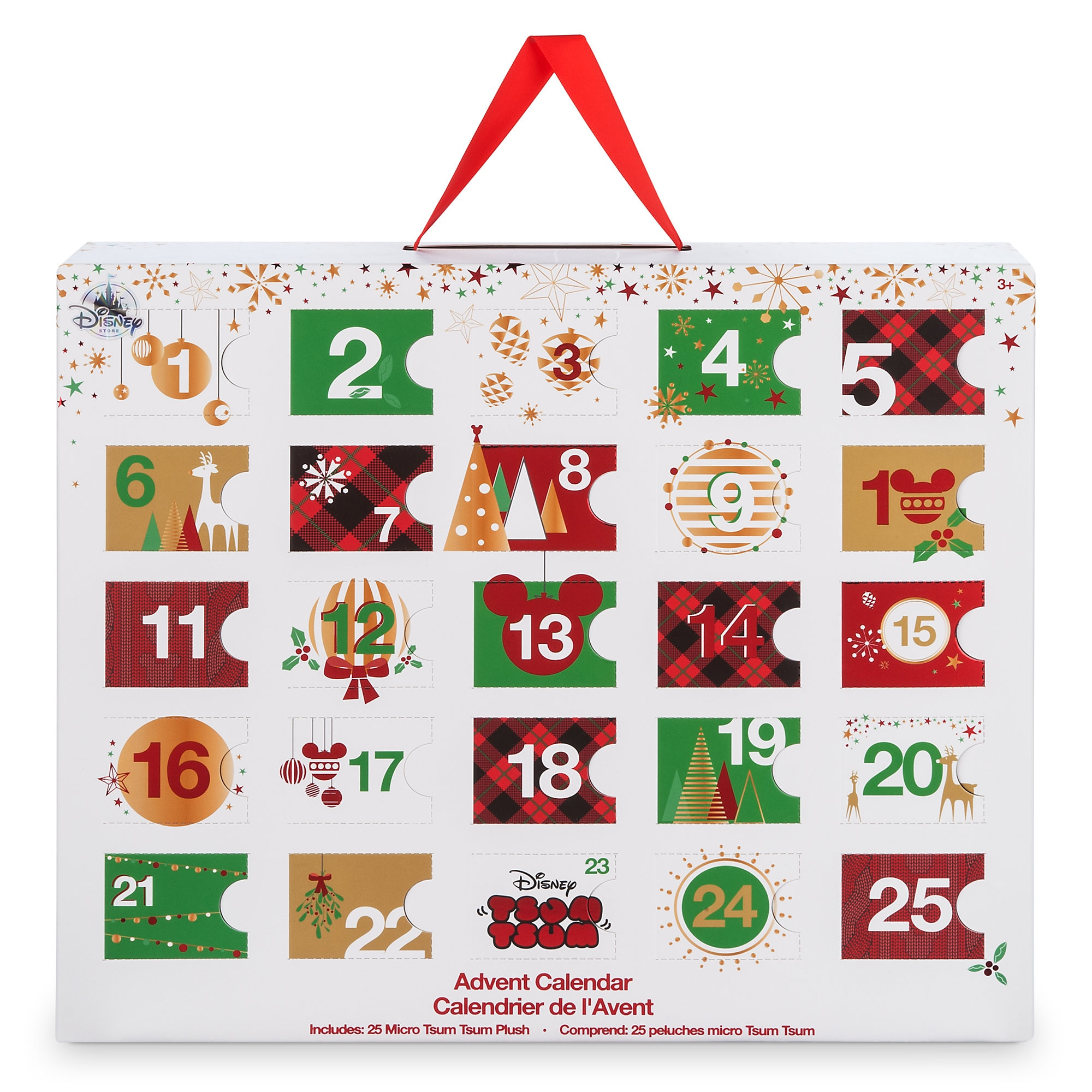 ''Tsum Tsum'' Plush Advent Calendar - Micro