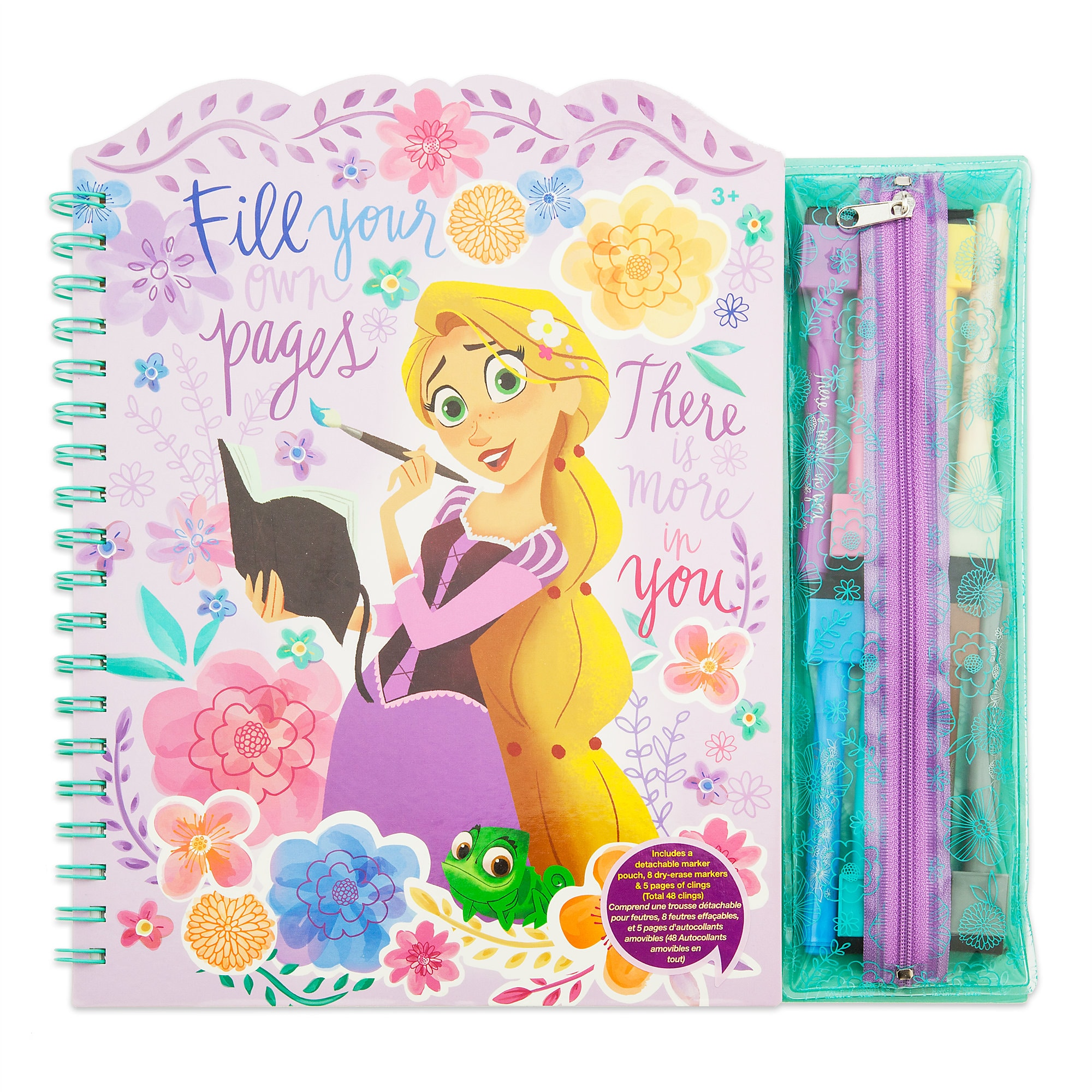 Rapunzel Arts & Crafts Story Book Set - Tangled: The Series