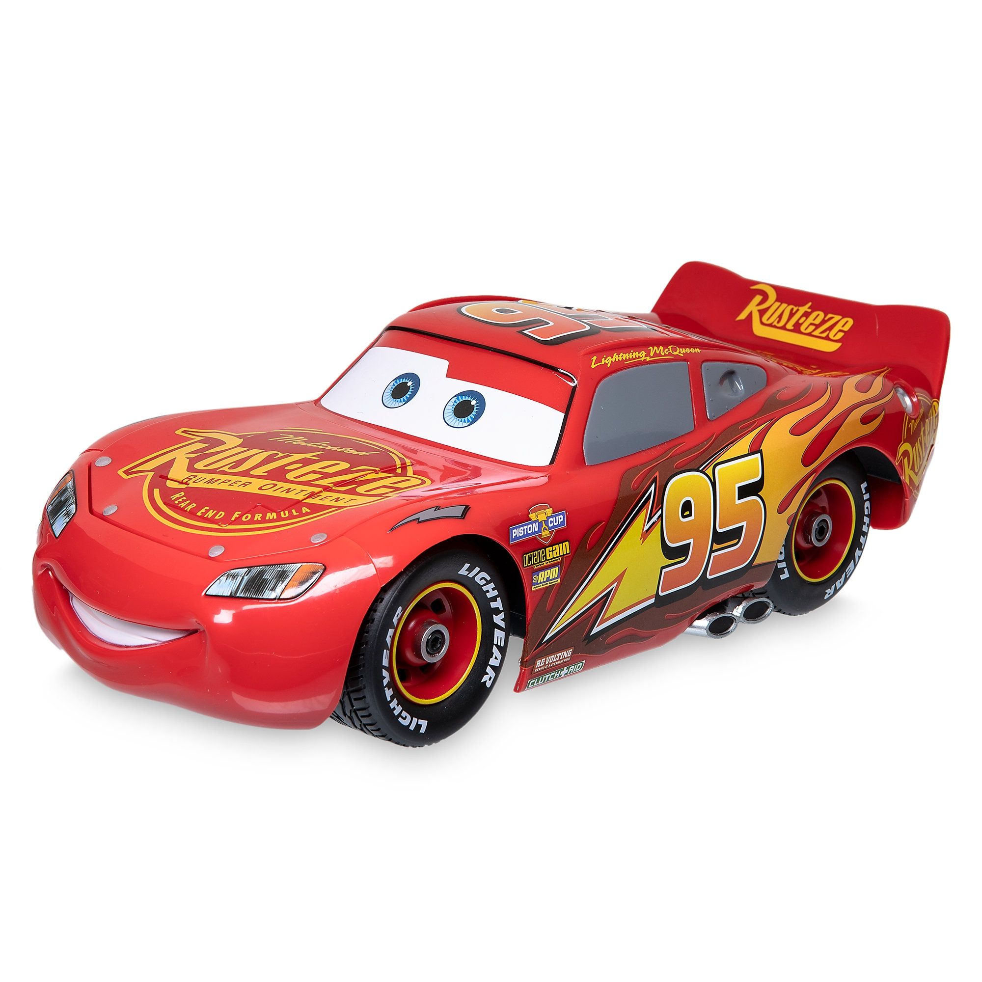 Product Image of Lightning McQueen Build to Race Remote Control Vehicle # 1 | shopDisney