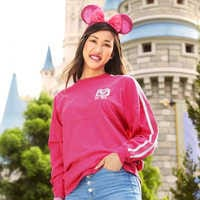 Image of Walt Disney World Spirit Jersey for Adults - Imagination Pink # 2