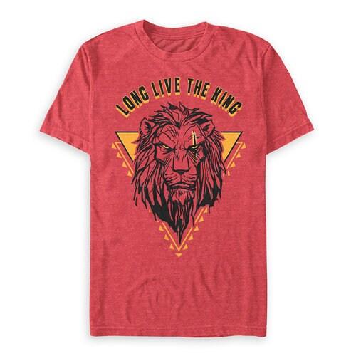 Scar T-Shirt for Men - The Lion King 2019 Film