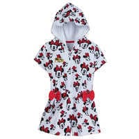 Image of Minnie Mouse Swim Cover-Up for Girls - Personalizable # 1