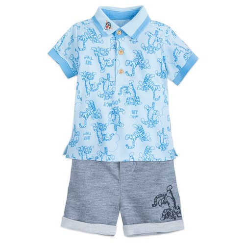 Disney Tigger Shirt and Shorts Set for Baby