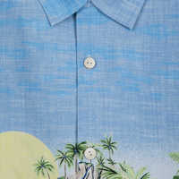 Image of Mickey Mouse and Friends Silk Shirt for Men by Tommy Bahama # 4