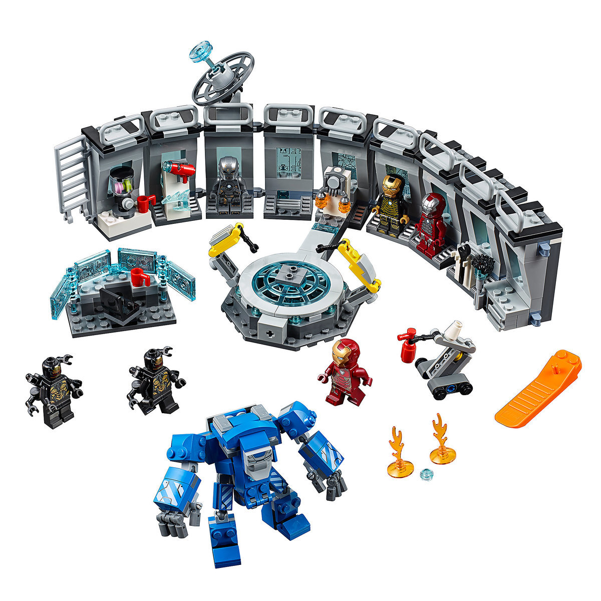 Iron Man Hall Of Armor Play Set By Lego Marvel Avengers Shopdisney