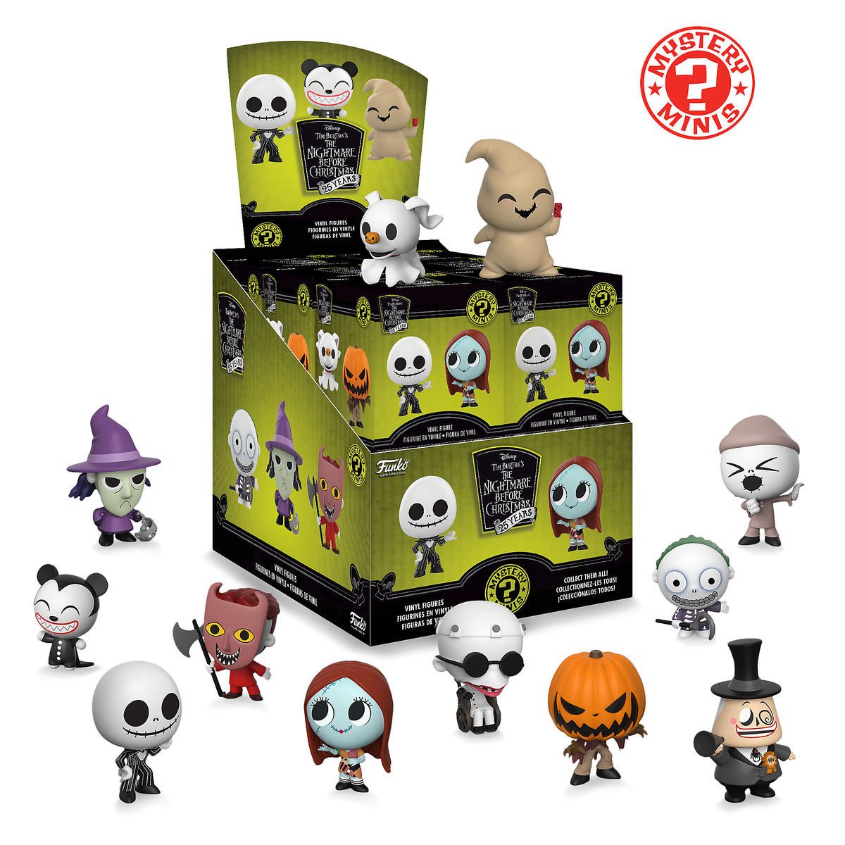 The Nightmare Before Christmas Mystery Mini Vinyl Figure by Funko ...