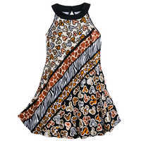 샵디즈니 여아용 원피스 Mickey Mouse Animal Print Dress for Girls - Disneys Animal Kingdom
