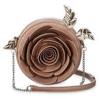 Image of Beauty and the Beast Enchanted Rose Crossbody Bag - Danielle Nicole # 1